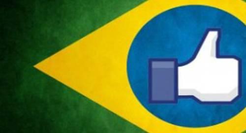 brasil é lider de acessos