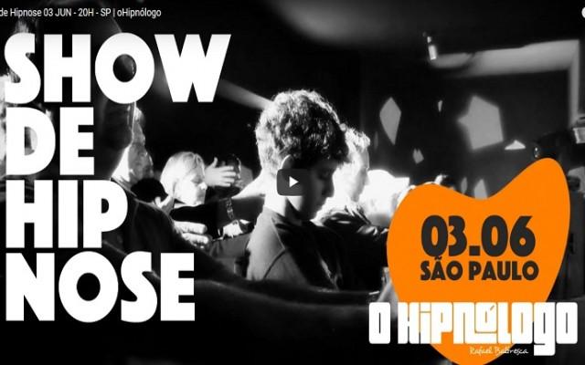 show de hipnose ao vivo