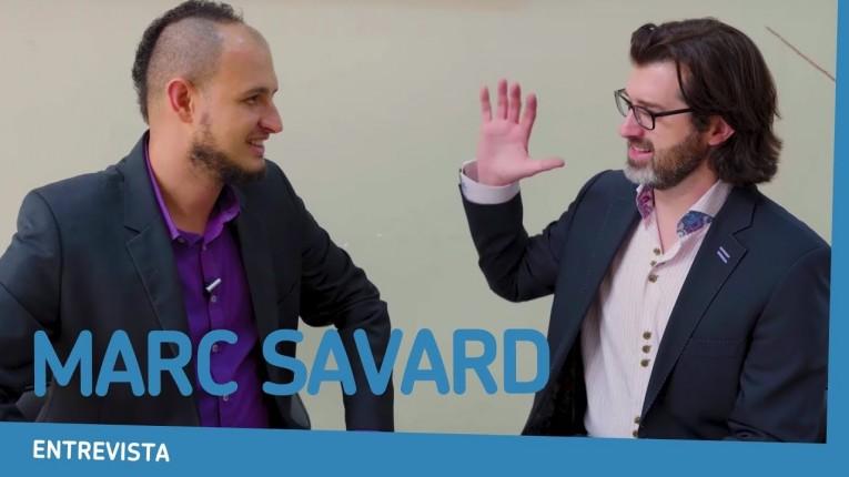 Marc Savard no Brasil