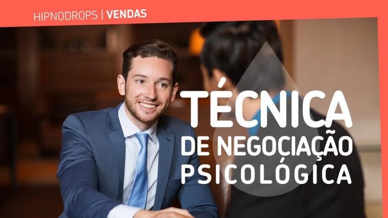 tecnica de negociação psicologica