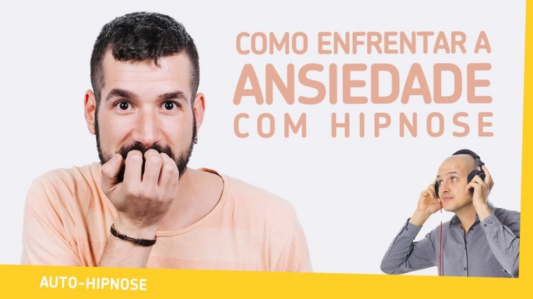 Capa - Comentando Como enfrentar a ansiedade com hipnose