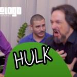 Virou o Hulk no meio do show de hipnose